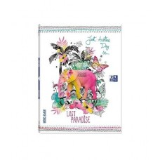 CADERNO OXFORD A4 PAUTADO OPEN FLEX LOST PARADISE