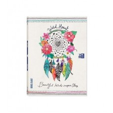 CADERNO OXFORD A4 PAUTADO OPEN FLEX WILD HEART