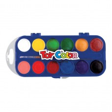 AGUARELAS TOY COLOR COM 12 CORES